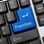 franchise on keyboard